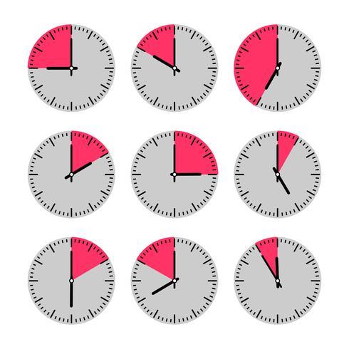 Bewegingen en horloges