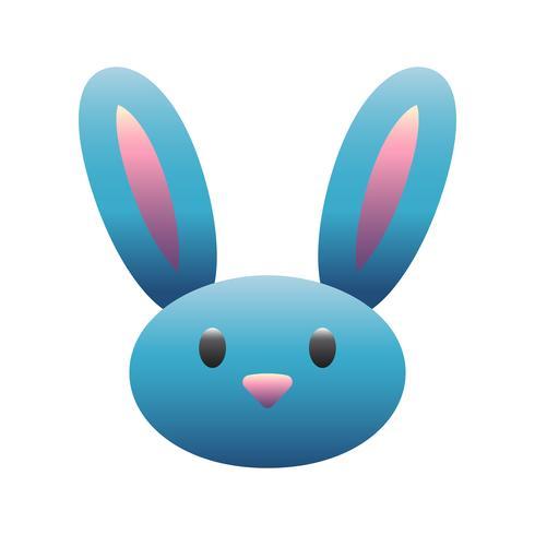Cartoon bunny rabbit graphic