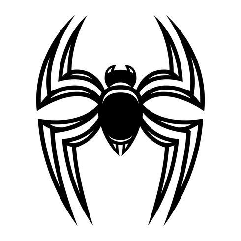 Spindel insekt bugg