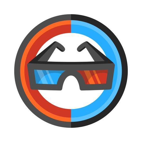 Óculos de filme 3D