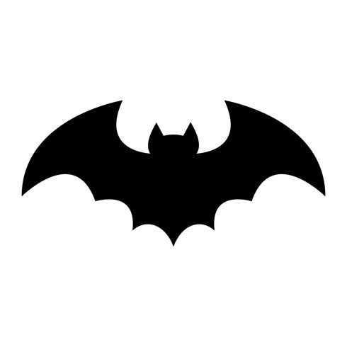 Bat vector pictogram