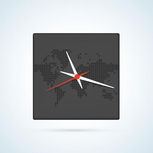 Imagen de un reloj de pared.