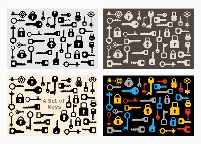 Set of locks  vector
