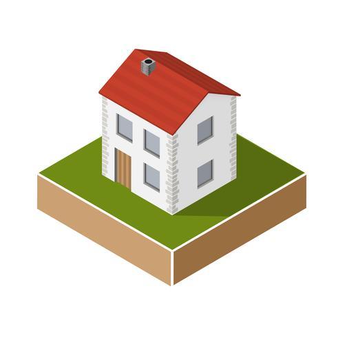 Dorfhaus vektor