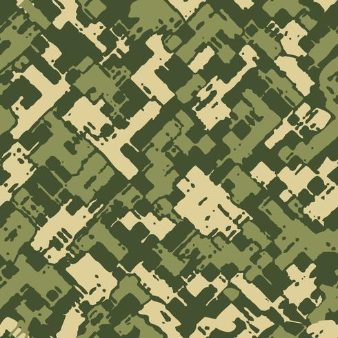 Military camouflage texture vector