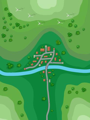 Plano de paisagem