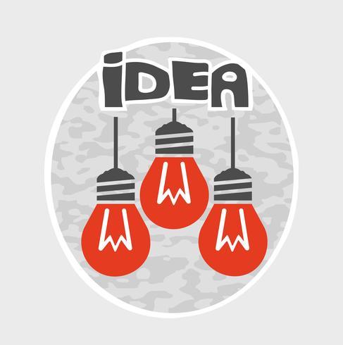 Gráfico de la idea vector