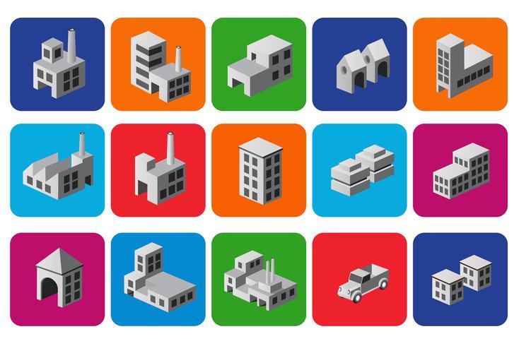 Conjunto de iconos vector