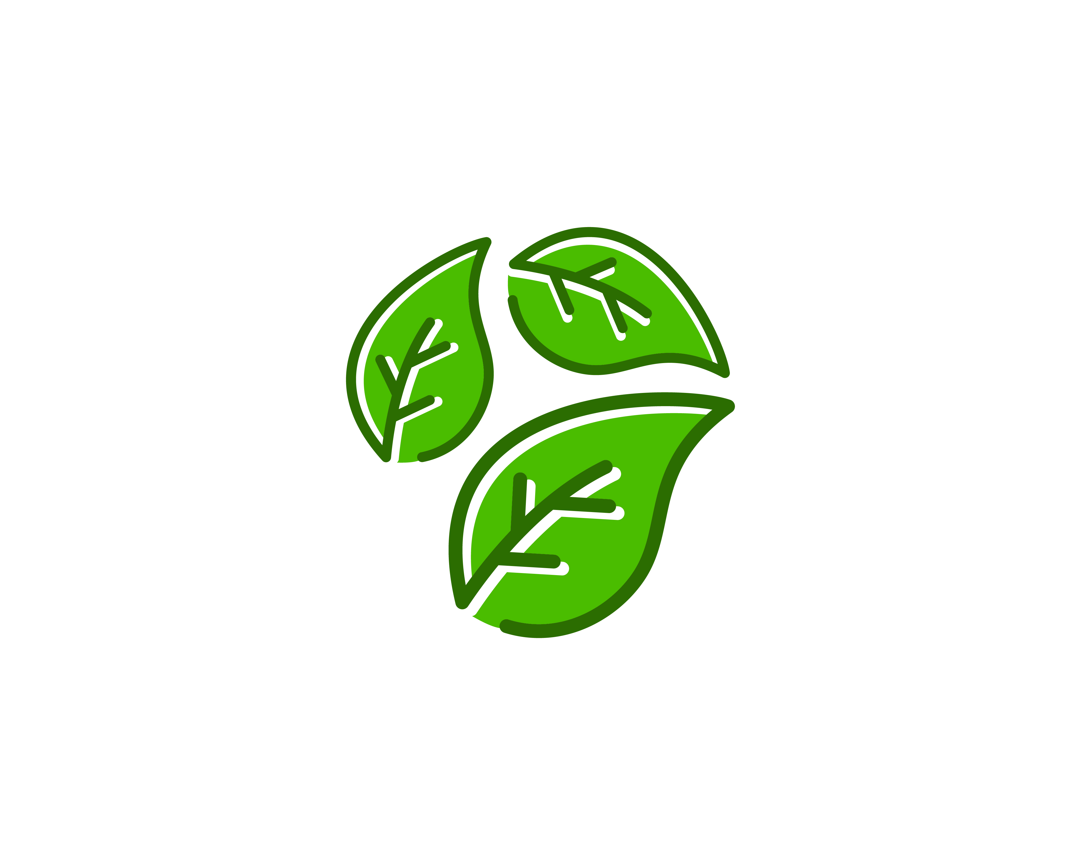 Natural Leaf Logo Icon Vector - Download Free Vectors ...