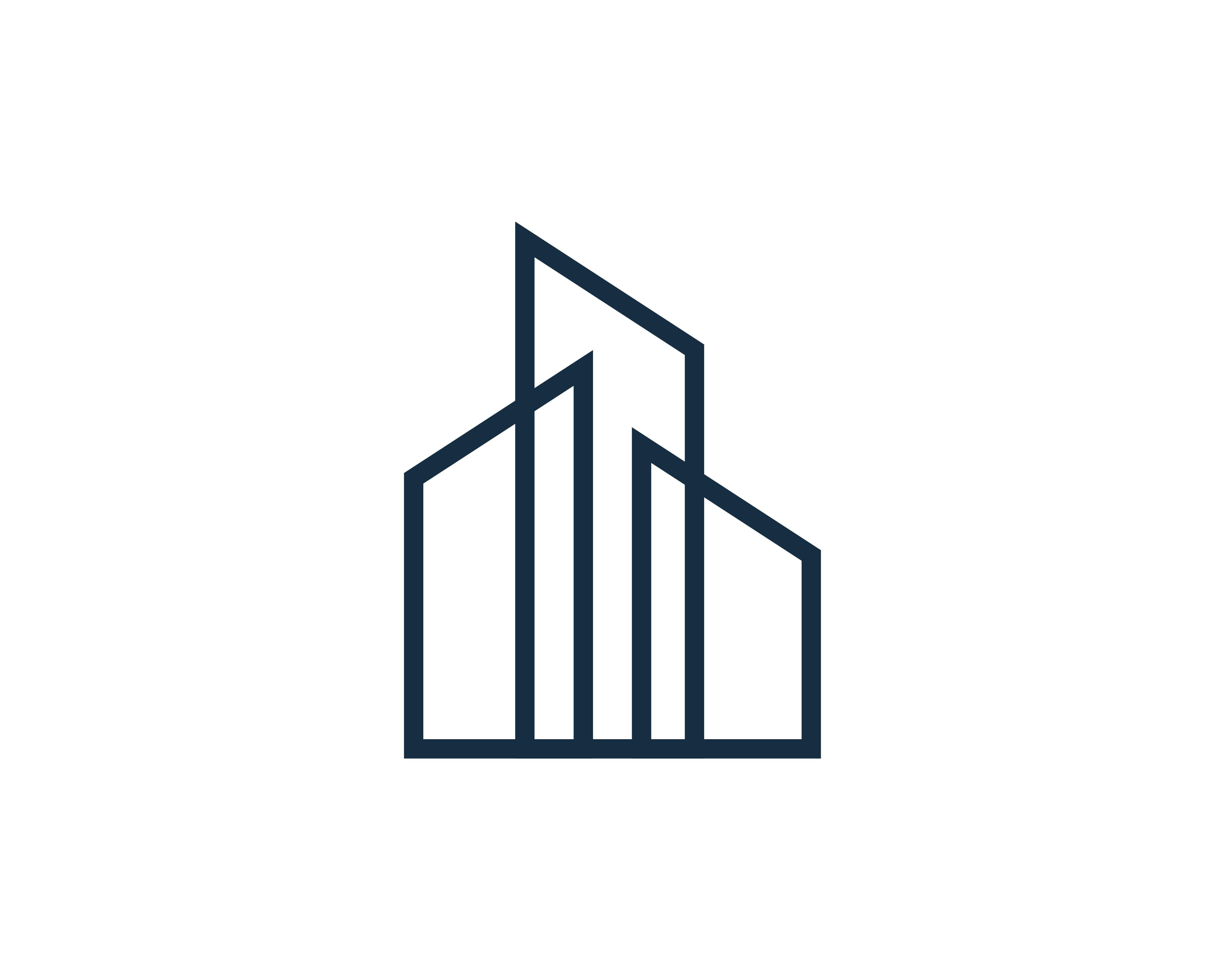 Real Estate Building Logo Icon Vector - Download Free Vectors, Clipart Graphics & Vector Art