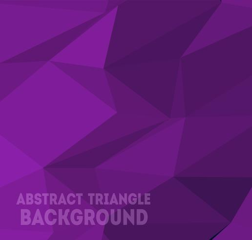 Driehoek achtergrondpatroon vector