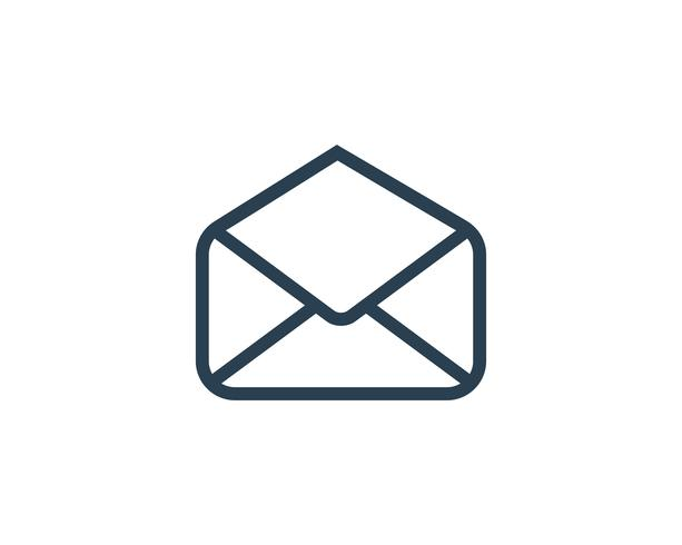 Envelope Mail Icon Vector Illustration