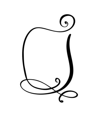 Calligraphy tecknad Quote speech bubble icon. Handritad textram eller rutmall. Vektor illustration. Tankebubbla. Plats för citat eller citera, Ballong för idé, för forum, chatt, kommentar