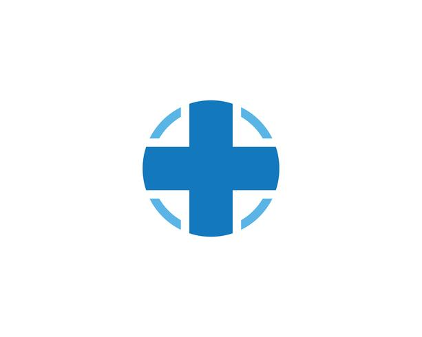 Plus medizinisches Kreuz Logo Icon Vector
