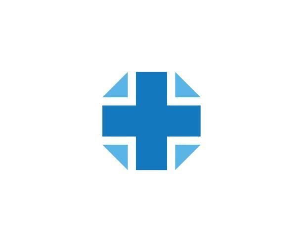 plus medische kruis logo pictogram vector