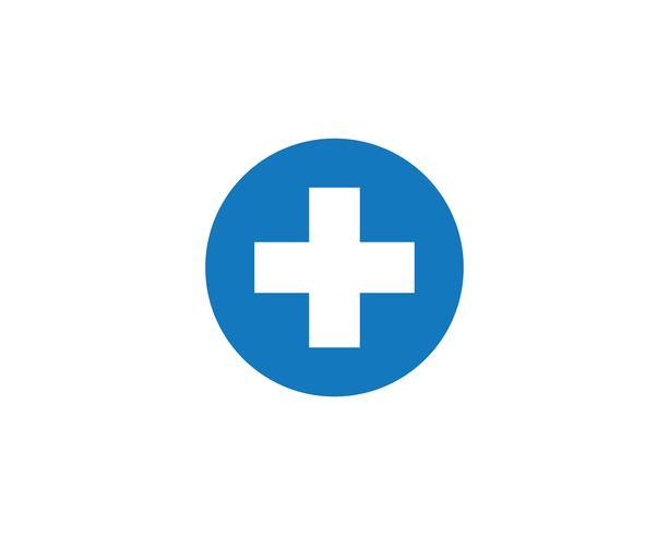 Plus Medical Cross Logo Icon Vector