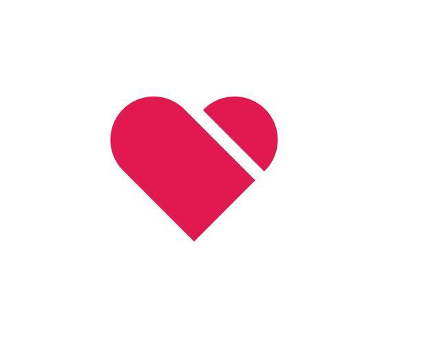 Hjärtan ikoner vektorer illustrationer