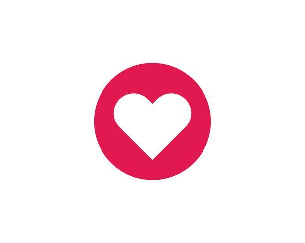 Ilustrações de vetores de ícones de corações