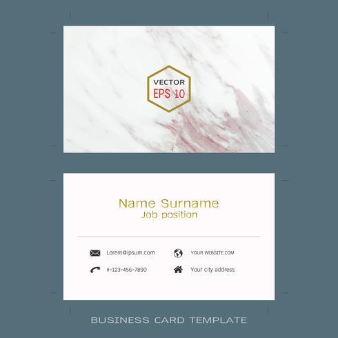 Modelos de layout de cartão de visita designer moderno.