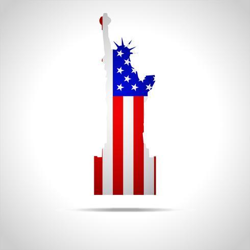 Onafhankelijkheid Dag 4 juli amerika vector