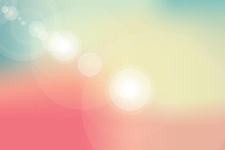 abstrakter Hintergrund oder Naturhimmel und Aufflackernlicht vektor