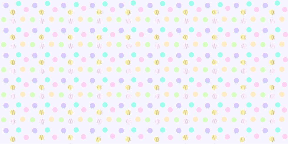 Motif A Pois Sans Soudure De Couleur Pastel Colore Abstrait A