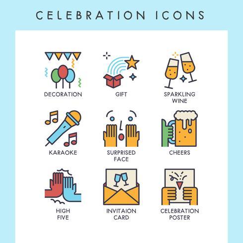 Celebration ikoner