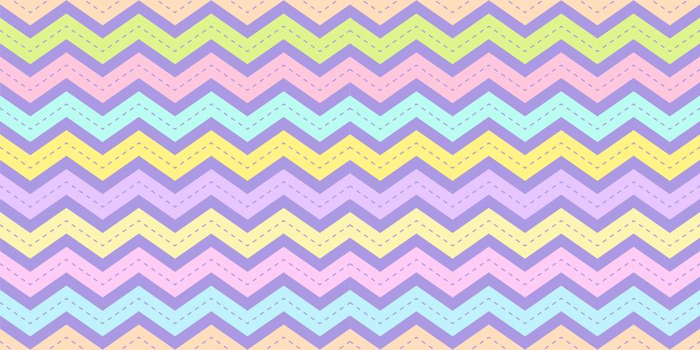 Motif à rayures Chevron sans couture de couleur pastel. Fond de texture arc en ciel zig zag pour impression de tissu enfant, papier peint, papier demballage, textile, fond de bébé, bannière et conception de cartes.
