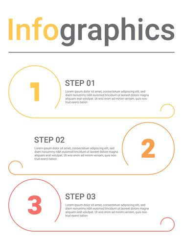 Infographics diagram with 3 steps, options, or processes. Vector business template for presentation. business data visualization.