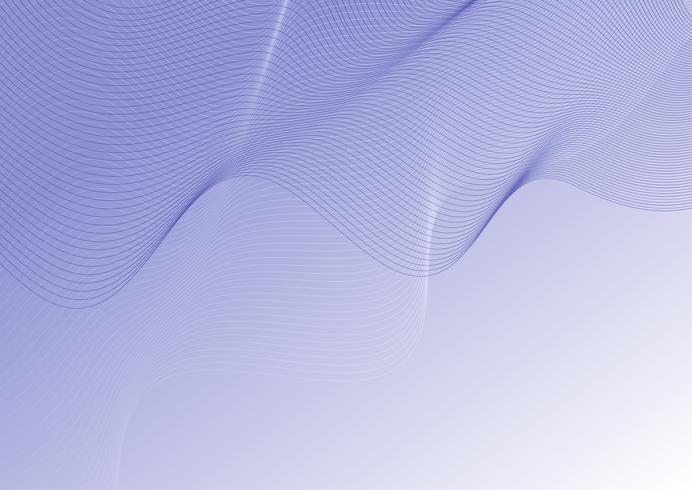Fondo de líneas de contorno abstracto vector