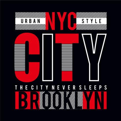 New York City tee element, vintage grafisk t-shirt tryck vektor illustration design