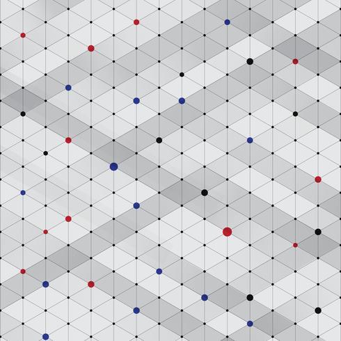Abstracte moderne stijlvolle isometrische patroon textuur, driedimensionale rechthoek