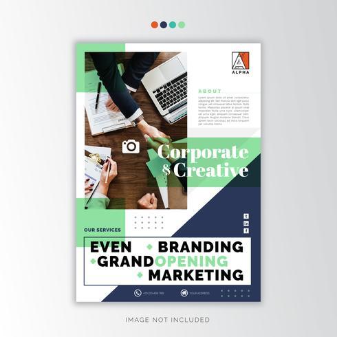 Diseño creativo de negocios vector