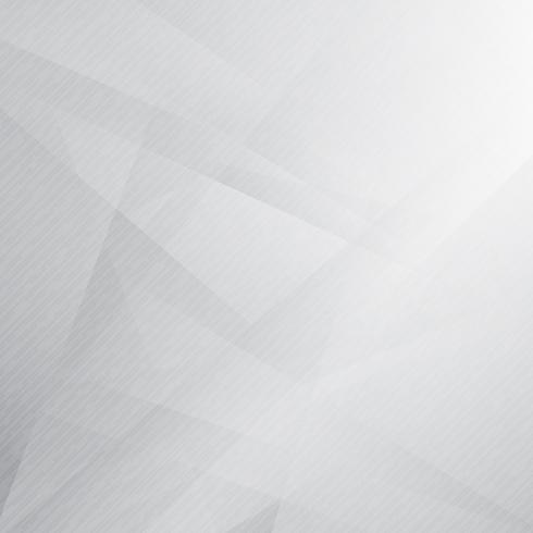 Abstract Triangles Overlay White And Gray Color Background