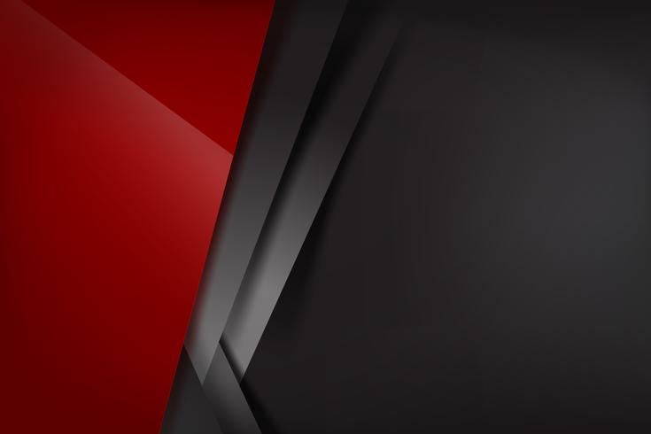 Rote dunkle und schwarze Überlappung 008 des abstrakten Hintergrundes vektor
