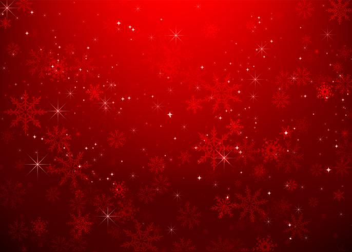 Navidad copo de nieve y luz de las estrellas resumen bakcground vector ilustración eps10 0023