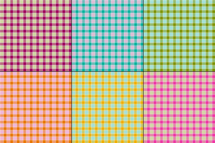 small vector plaids