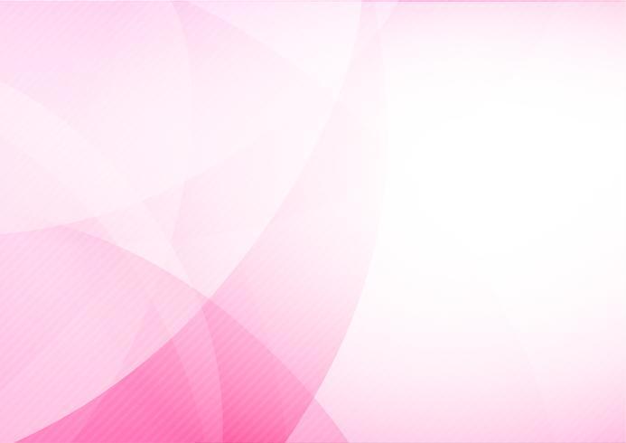Curva e fonda lo sfondo astratto rosa chiaro 013 vettore