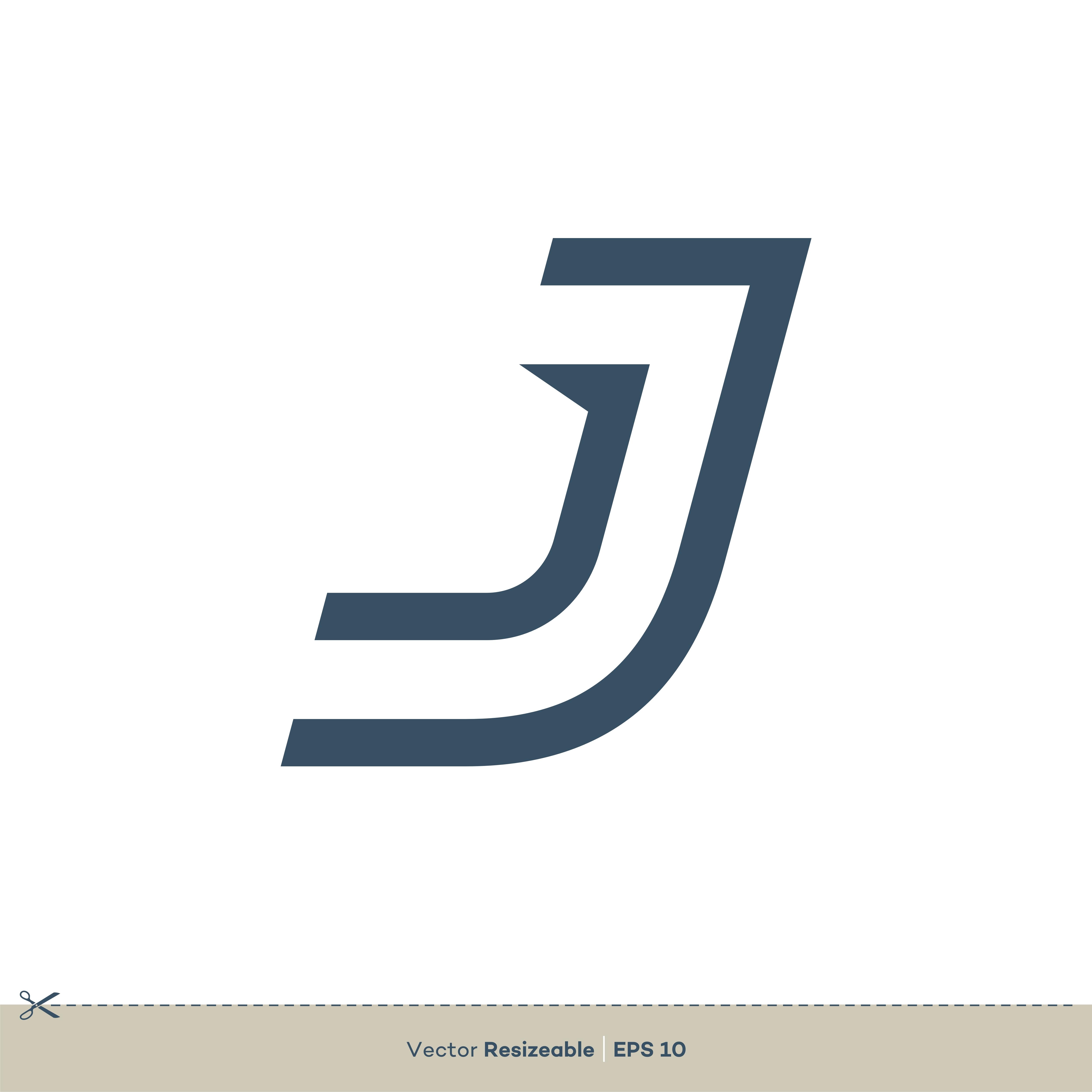 J Letter Vector Logo Template Illustration Design