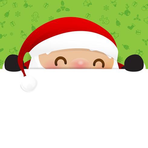 Weihnachtsschneemann-Weihnachtsmann-Karikaturlächeln auf weißem Hintergrund 002