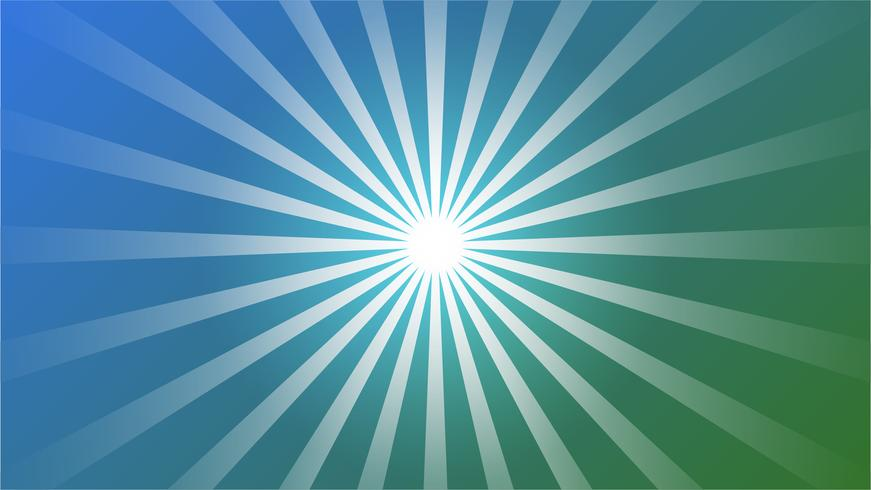 Abstract blue gradient Background with Starburst effect. and Sunburst beams element. starburst shape on white. Radial circular geometric shape.