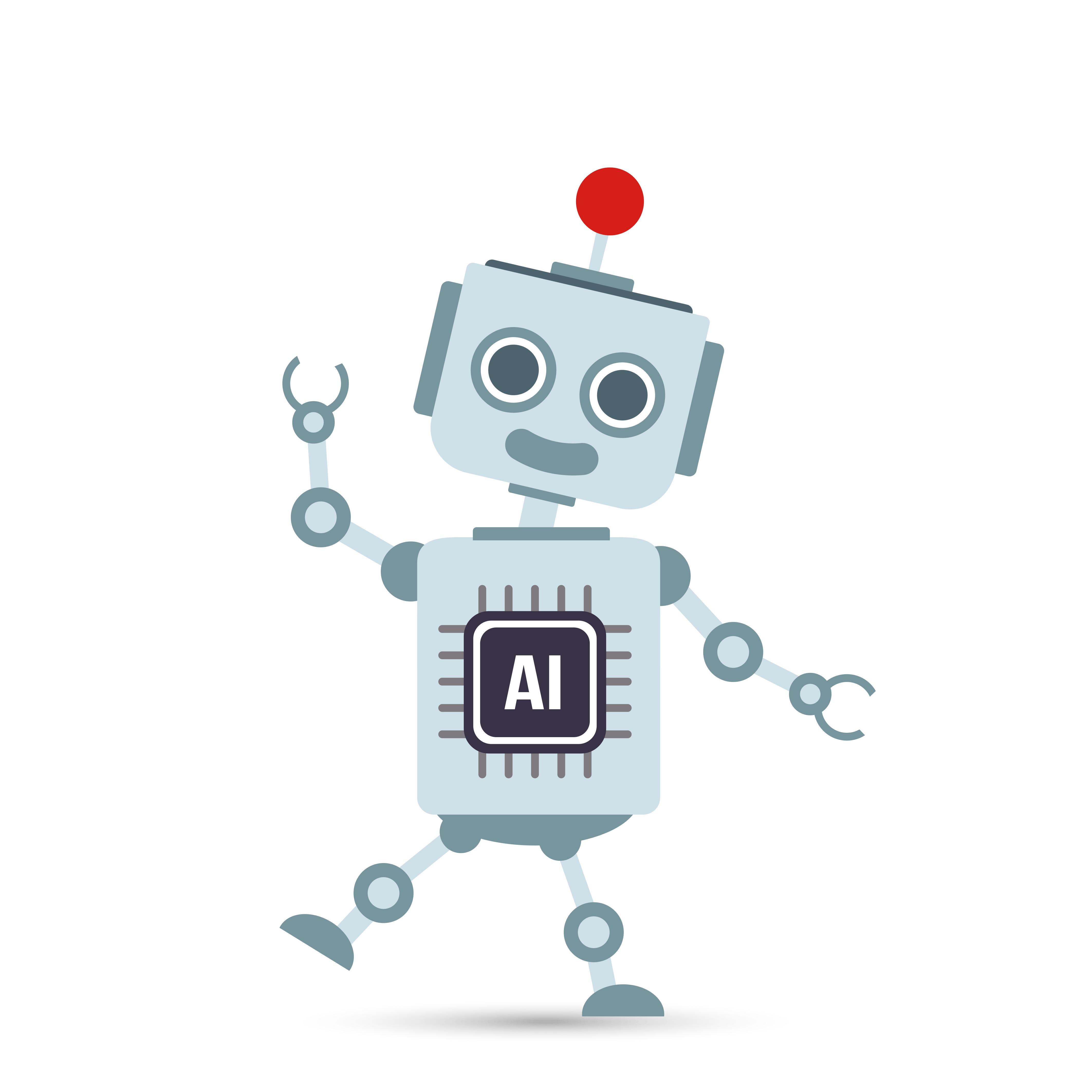 AI Artificial intelligence Technology robot cartoon 001 ...