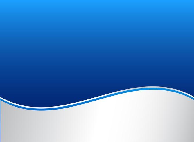 La onda abstracta de la raya alinea el fondo azul y blanco gráfico del color del gradiente.
