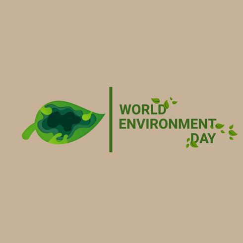 día Mundial del Medio Ambiente vector