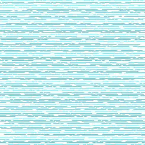 Abstrakte blaue dünne gerundete Linie horizontales Muster des Musters auf weißem Farbhintergrund und -beschaffenheit.
