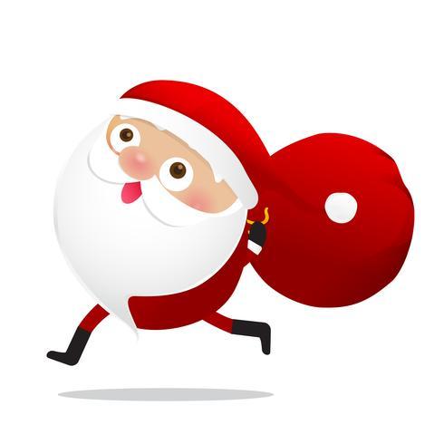 Joyeux Noël personnage Santa Claus cartoon 015
