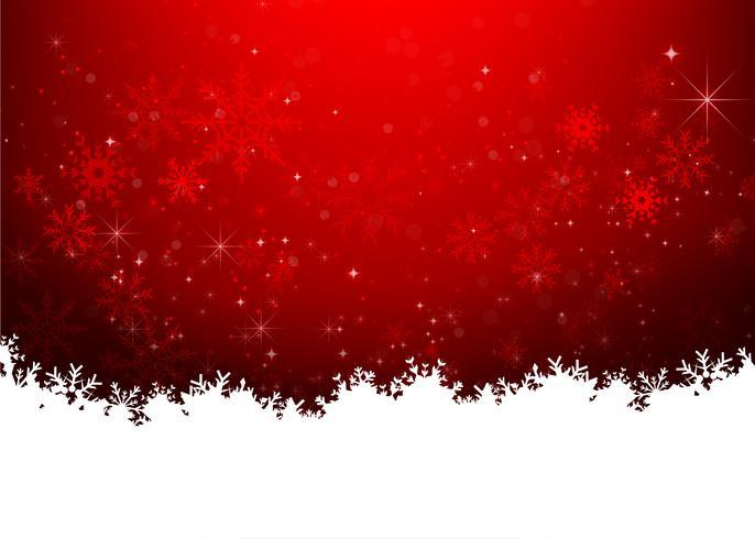 Kerstmissneeuwvlok en starlight abstracte bakcground vectorillustratie eps10 0022