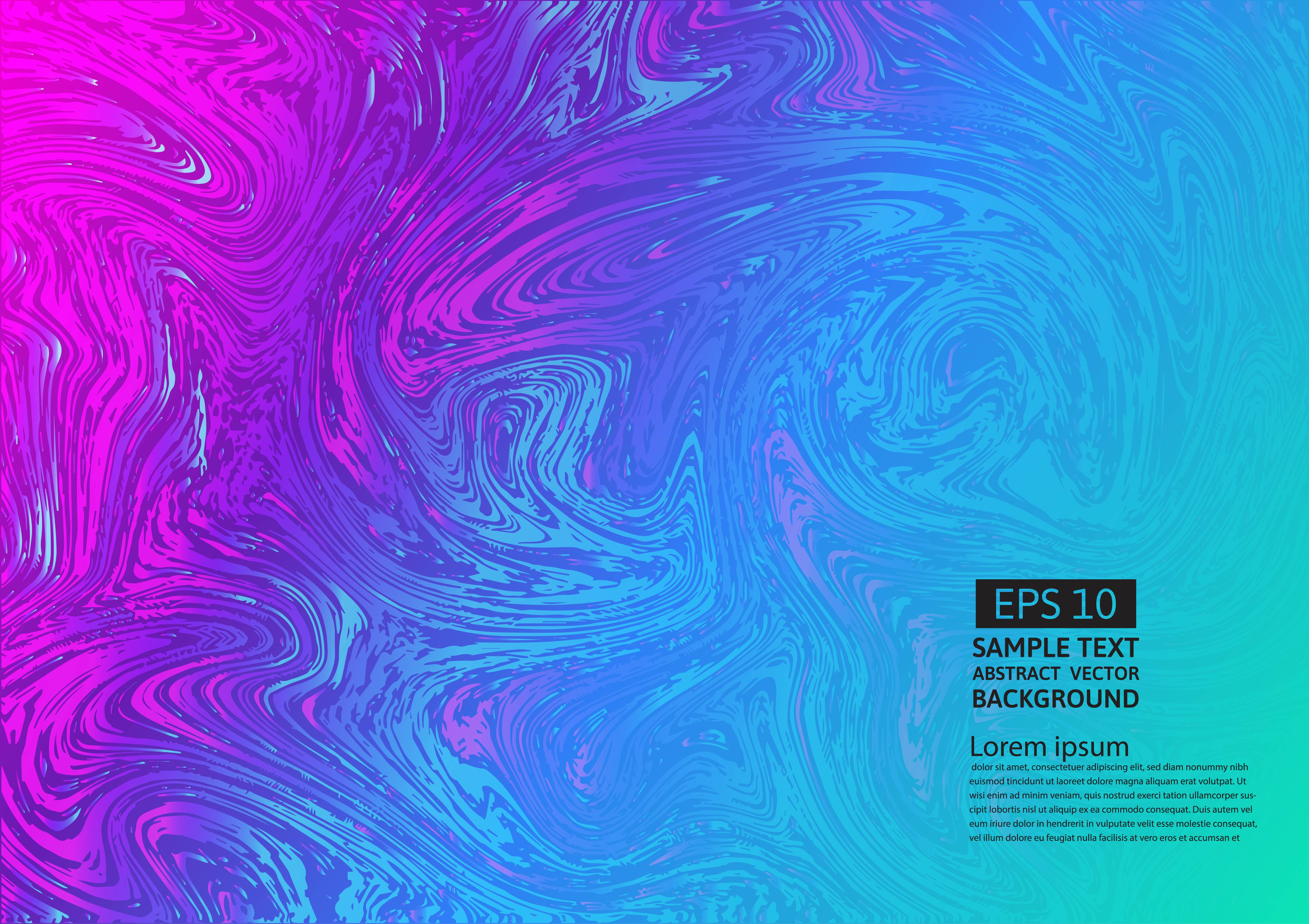 Colorful liquid abstract background. Fluid gradient shapes ...