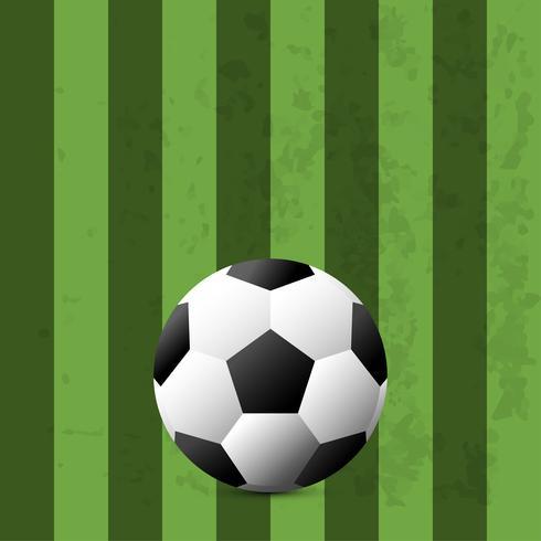 Copa de fútbol de publicidad. Anuncio de evento deportivo. Coloque su plantilla de campo Text.Soccer. vector illustration.world cup 2018