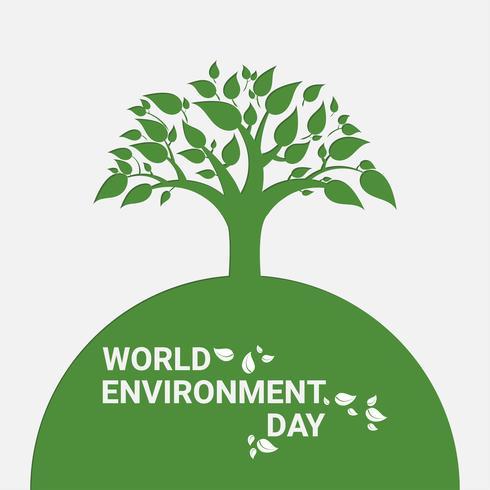 Alberi verdi e foglie di primavera o estate. Pensa verde ed ecologico. Giornata Mondiale per l'Ambiente.